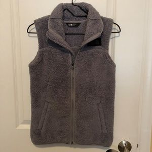 The North Face Gray Zippered Vest - Size: XS